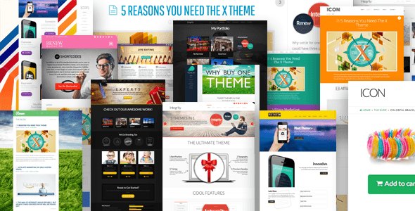 Download X v2.4.0 – The Ultimate WordPress Theme for free