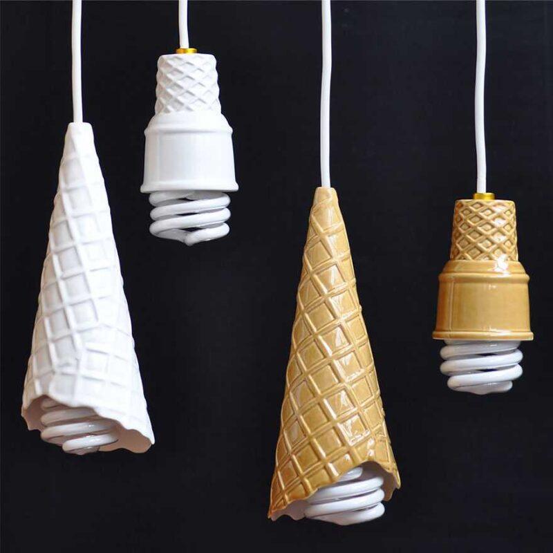 Ice Cream Cone Bulb Sockets