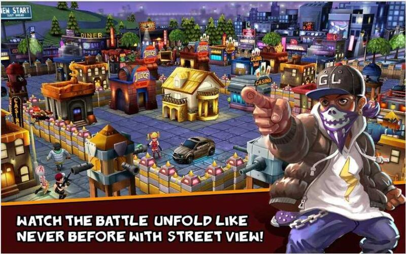 Clash of Gangs Strategy Mod Apk 1