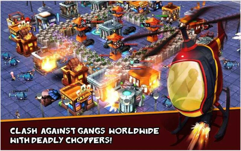 Clash of Gangs Strategy Mod Apk 11