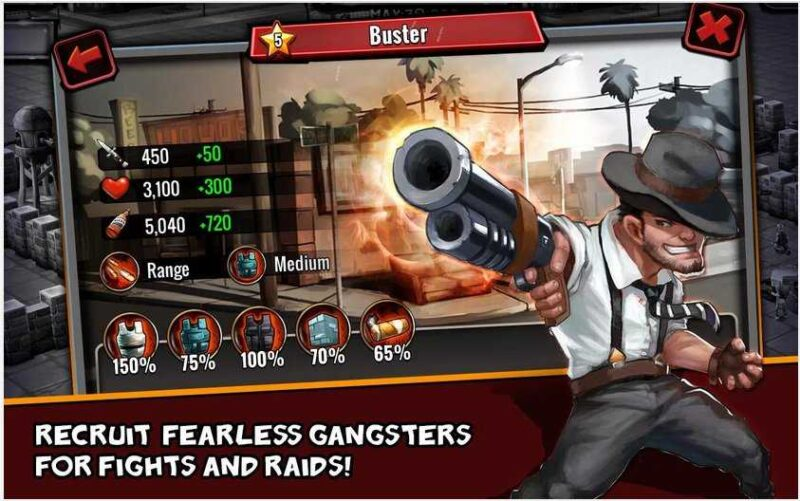 Clash of Gangs Strategy Mod Apk