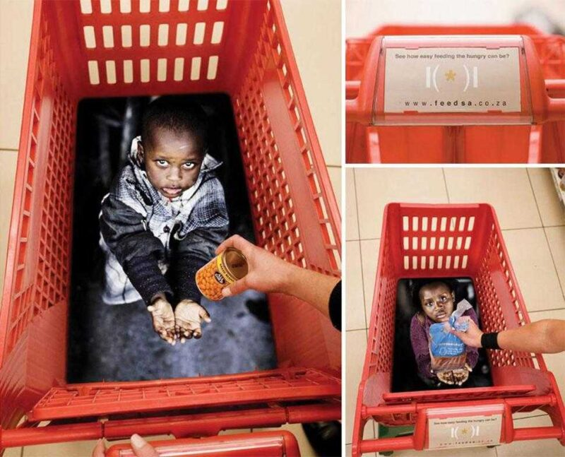 See how easy feeding the hungry can be