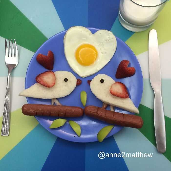 The sunny side up love