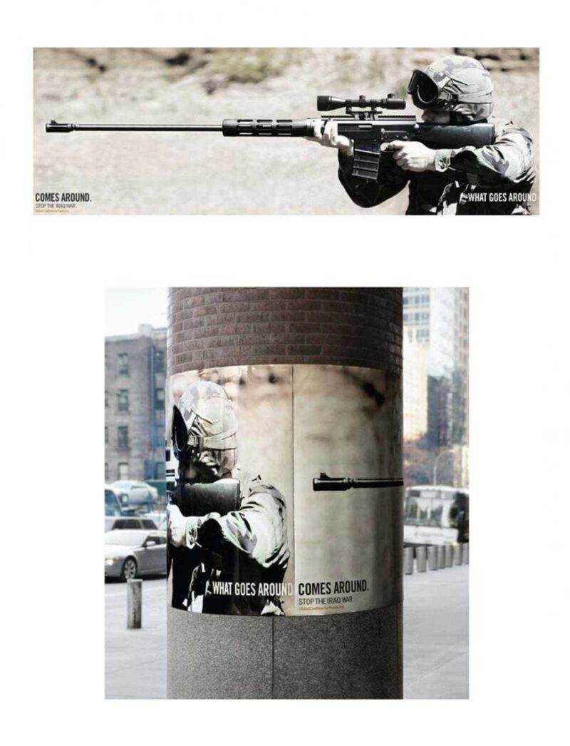What Goes Around Comes Around Stop The War