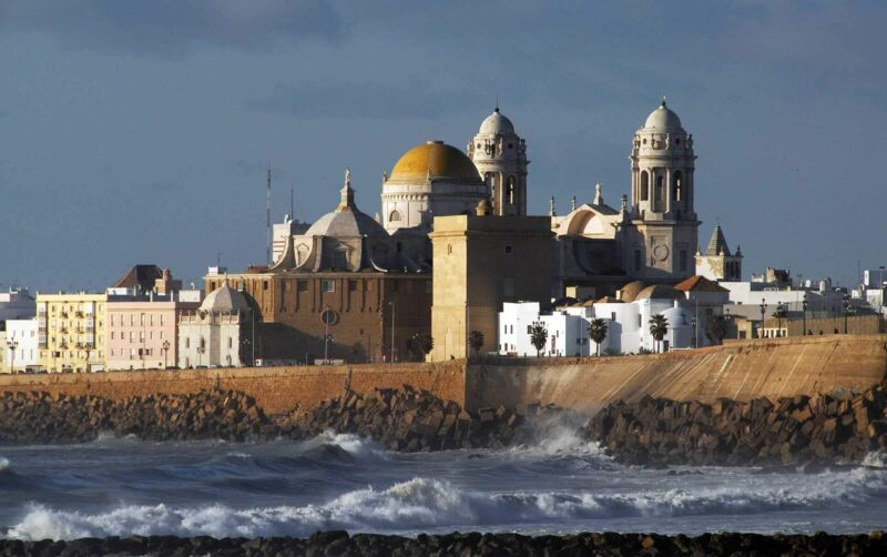 The Baroque Cathedral and Churches in Cadiz