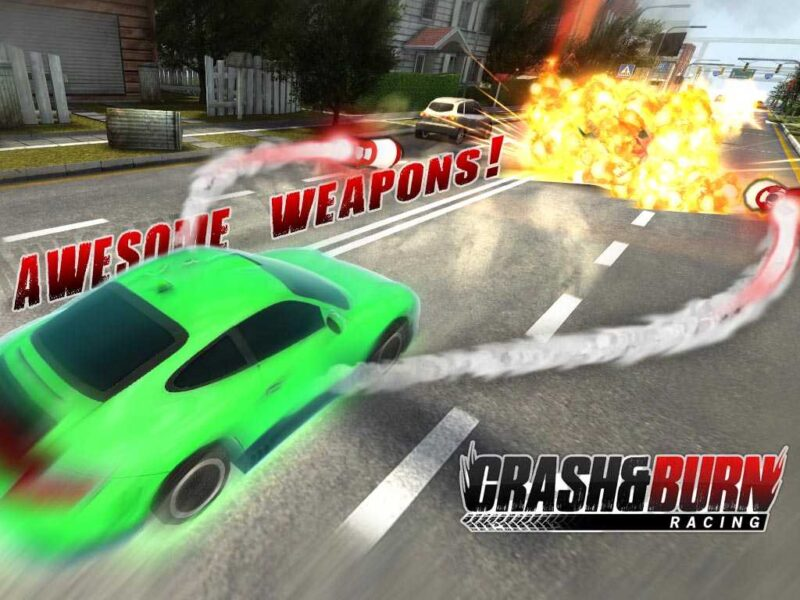Crash and Burn Racing