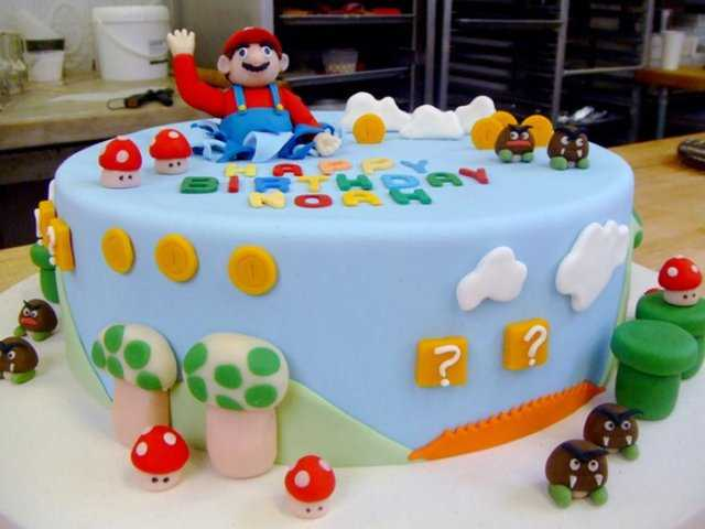 top 10 awesome super mario cake designs slicontrolcom