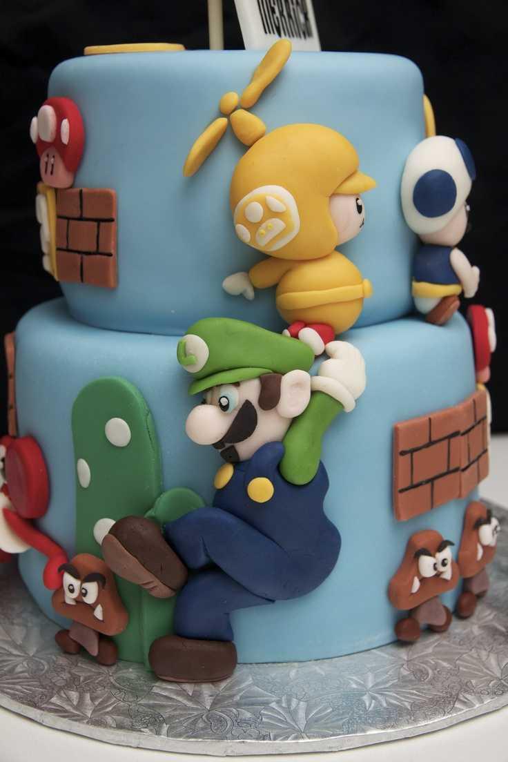 super mario cake 1