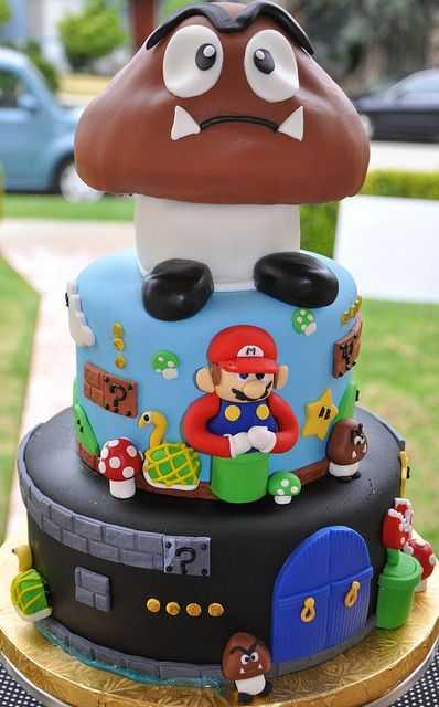 super mario cake 6