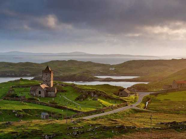 Church of Rodel, Outer Hebrides, Scotland