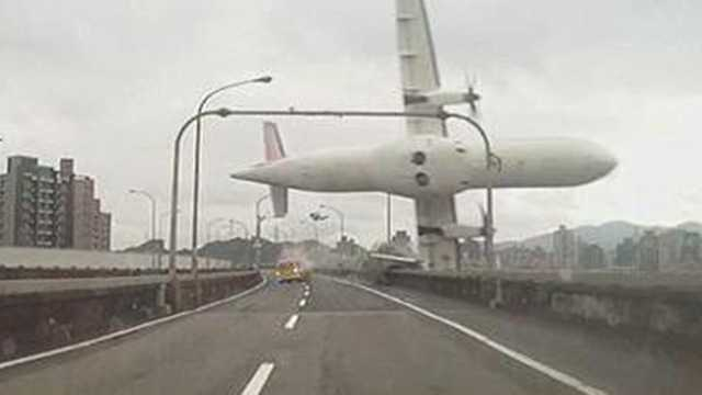 TransAsia plane crashes
