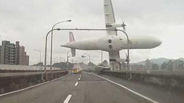 TransAsia plane crashes