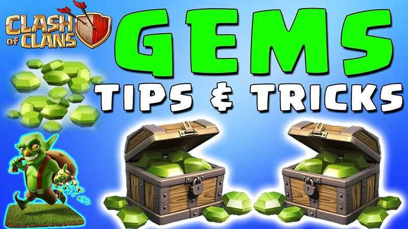 get extra gems in clash of clans