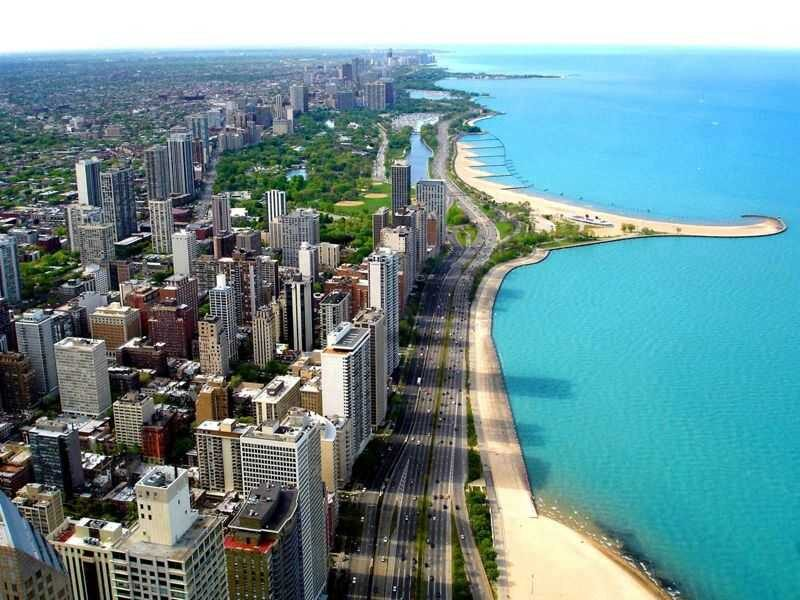 Chicago's Cityscape, USA
