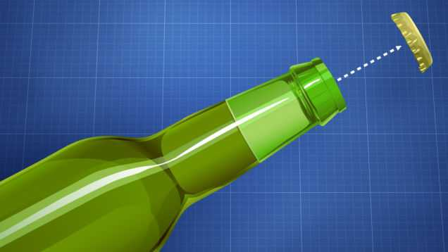 How to Open Beer without Opener simple method 2015