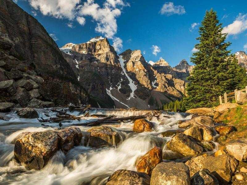Mountains River Nature