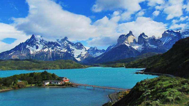Patagonia southern-most tip of South America