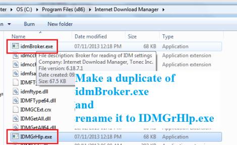 idm registration serial number