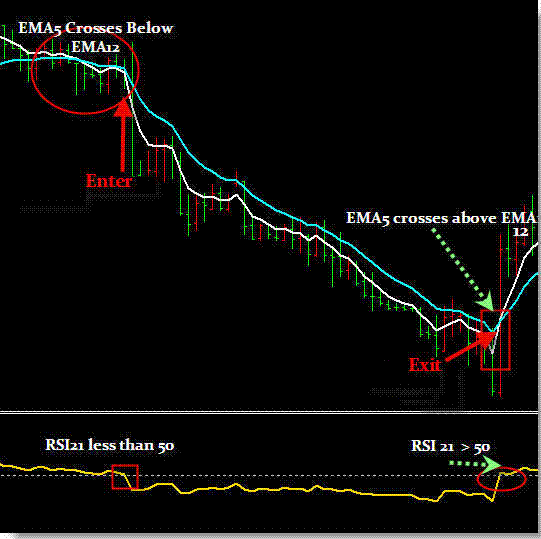 EMA RSI Trading System