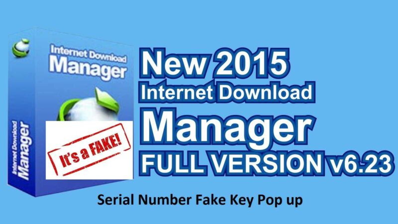 download crack idm fake serial number