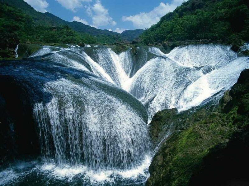 Pearl Shoal Waterfall, Jiuzhaigou