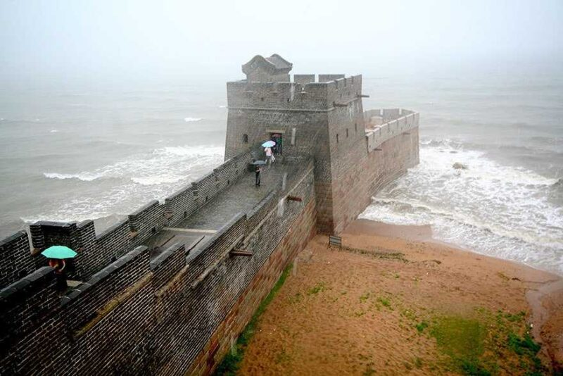 The Great Wall Ends