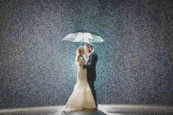 magical wedding photo