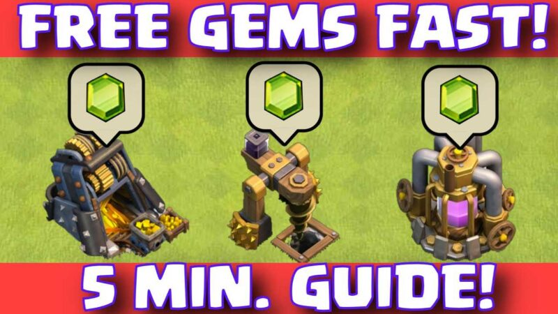 Clash Of Clans FREE GEMS EASY FAST WAY TO EARN 1