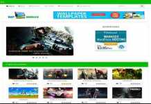 Adsense Optimized WpWalls WordPress Wallpaper Theme