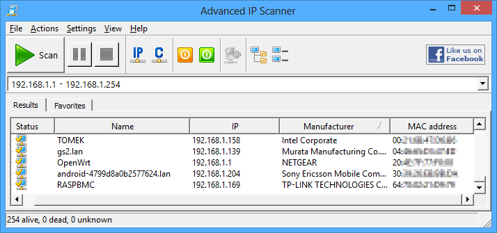 download advanced ip scanner is best ip scanner