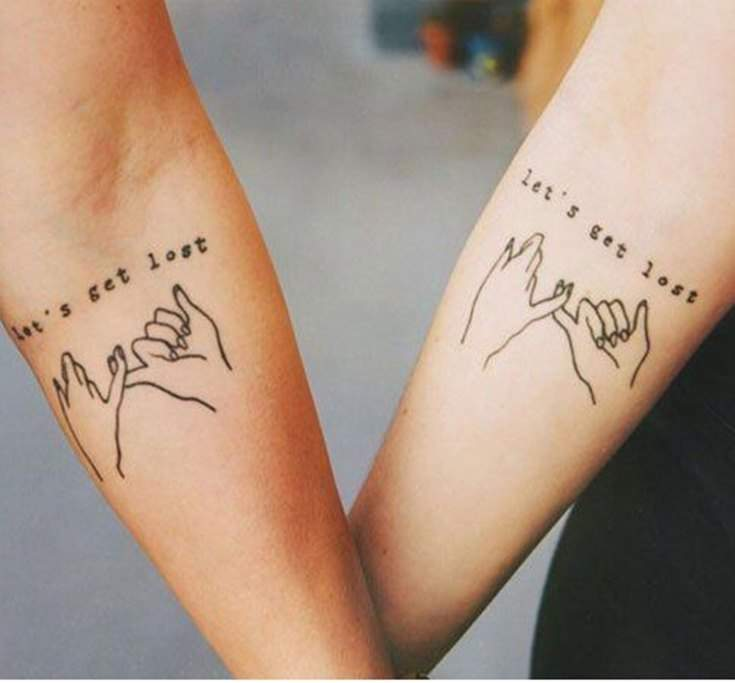 35 Best Friend Tattoos Ideas That Will Inspire You 12