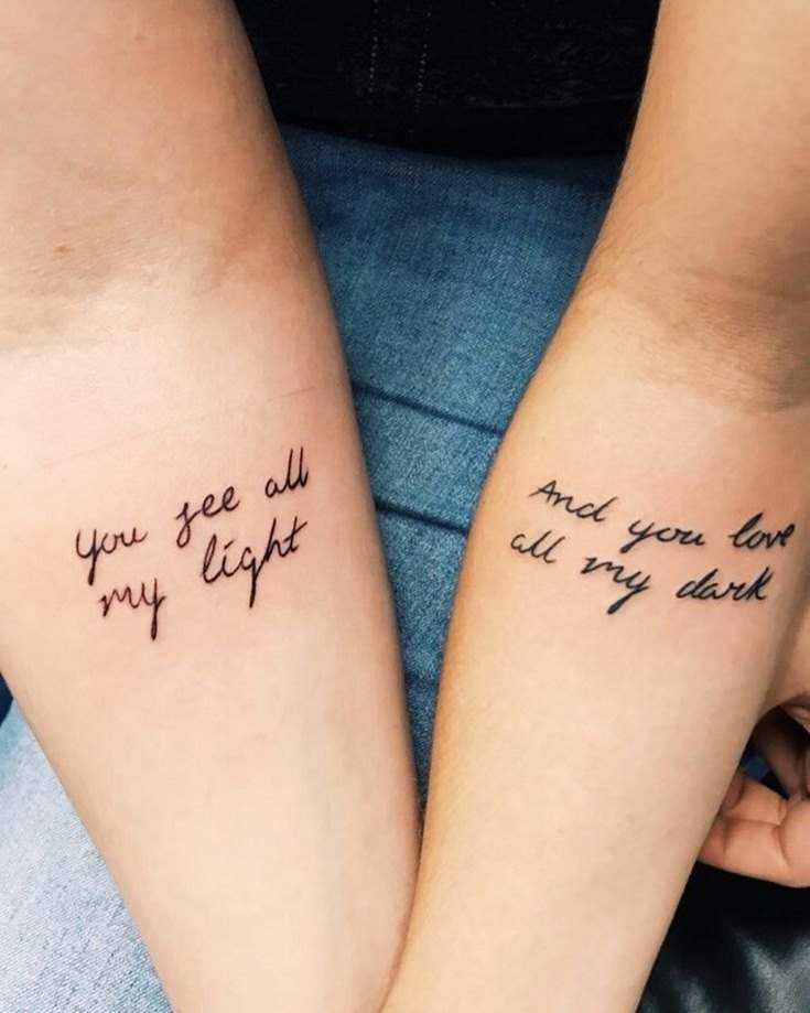 35 Best Friend Tattoos Ideas That Will Inspire You 14