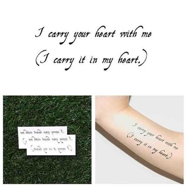 67 Simple Tattoo Ideas That Will Inspire You Quote 12
