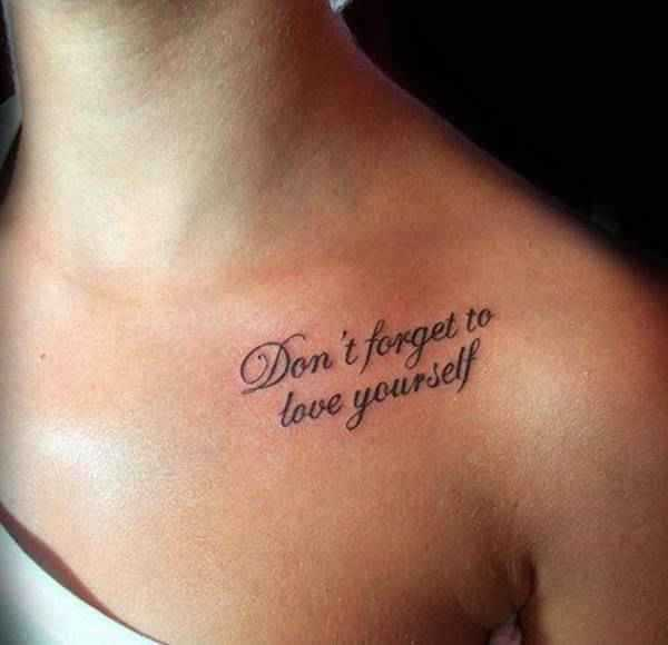 67 Simple Tattoo Ideas That Will Inspire You Quote 29