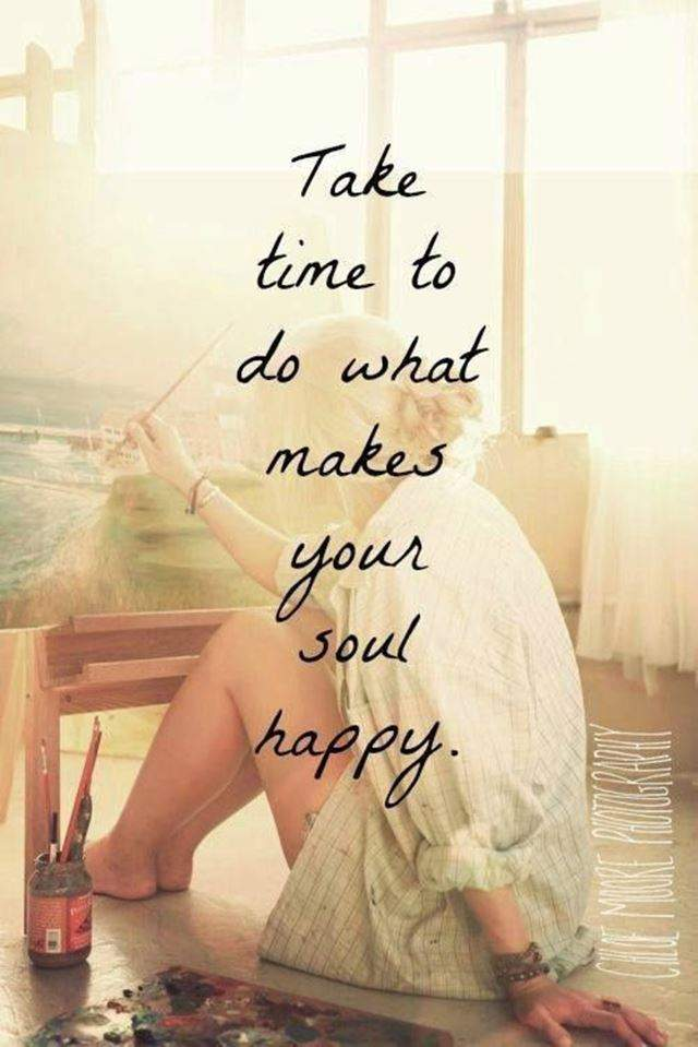 happy quotes about soul to make it an Awesome day #be happy