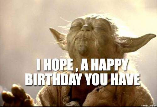 funny bday memes I hope birthday you have