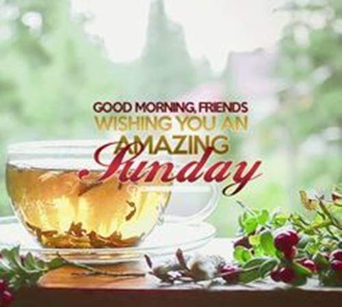 Good Morning Sunday Quotes Messages with Images wishes amazing sun
