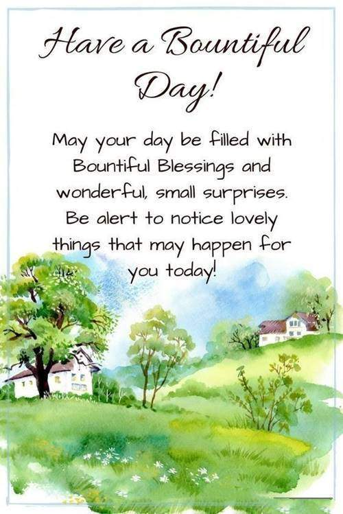 Good Morning Wishes With Blessings 36