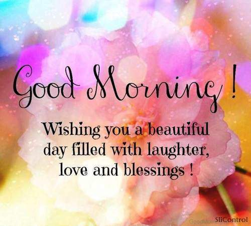 Good Morning Wishes With Blessings morning talk quotes
