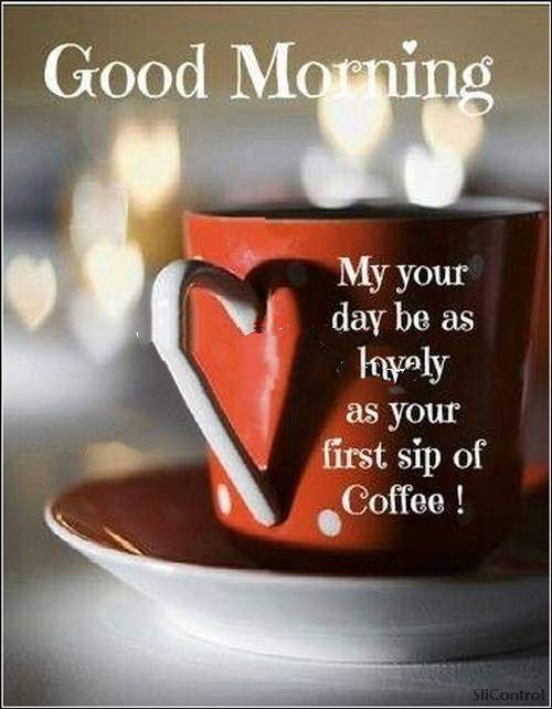 Good Morning Wishes With blessings on your day