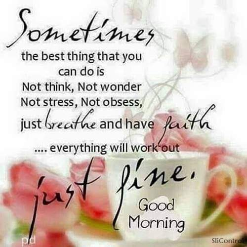 good morning enjoy your day