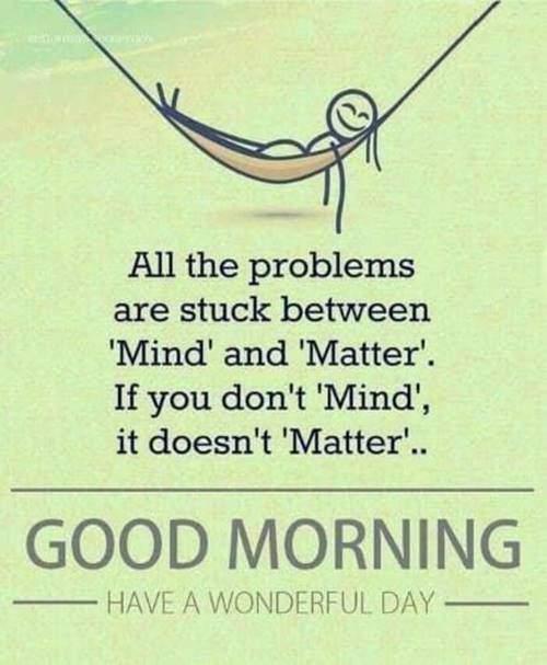 good morning inspirational message