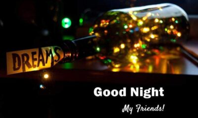 good night messages for friends with images