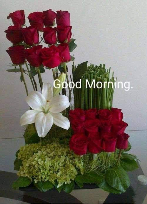 lovely good morning wishes with flowers good morning quotes for her