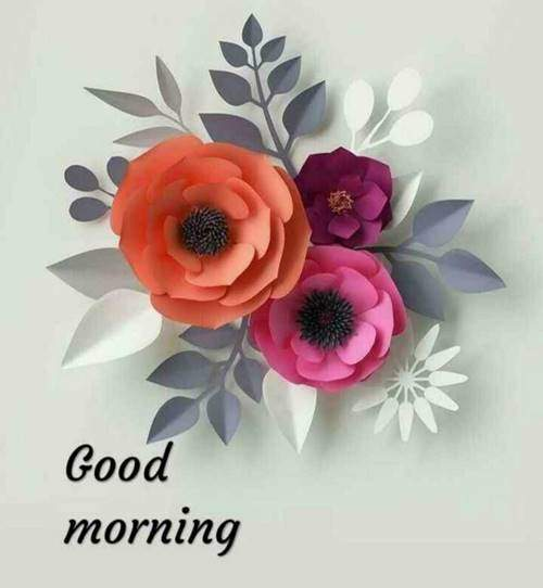 lovely good morning wishes with flowers quotes short