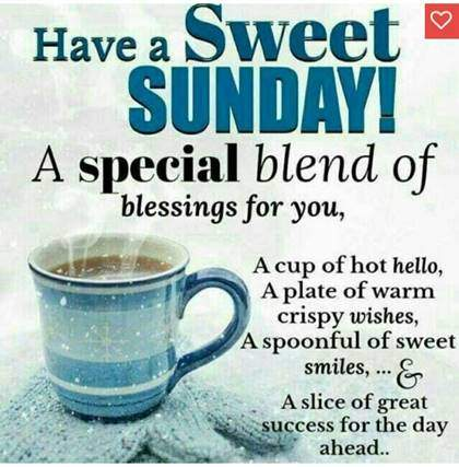 Good Morning With Black Tea sunday wishes with images
