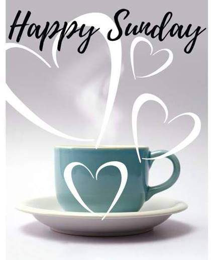 Sunday Morning Coffee wishes with image