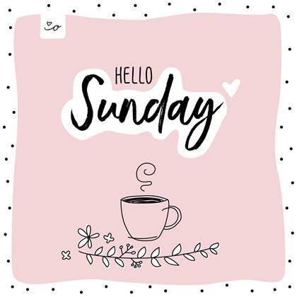 Sunday Morning Coffee wishes with images