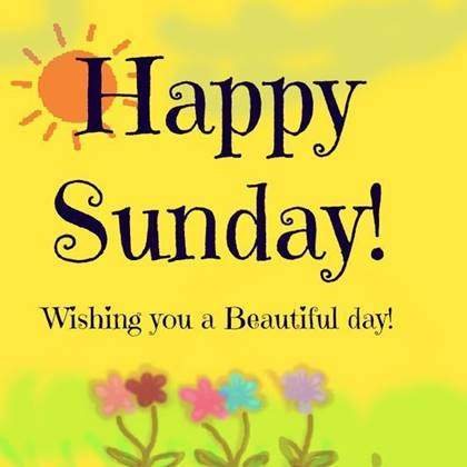 Nice Pic Of sunday wishes with images