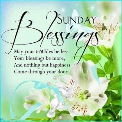 good morning sunday wishes with images blessing be more